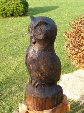 Dřevěná sova