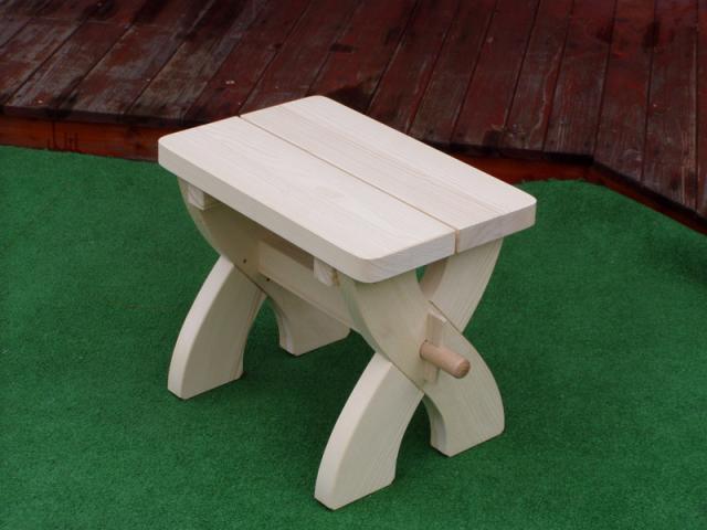 Zahradní stolička ždbz 04